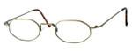Regency International Designer Eyeglasses SL510 in Antique in Gold 46mm :: Rx Bi-Focal