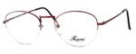 Regency International Designer Reading Glasses Lady in Lite Burgundy 54mm