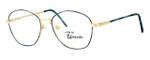 Regency International Designer Reading Glasses Yale in Gold K 103 52mm