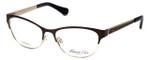 Kenneth Cole Designer Eyeglasses KC0226-047 in Brown-Gold :: Custom Left & Right Lens