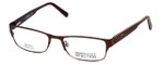 Kenneth Cole Reaction Designer Eyeglasses KC735-049 in Brown :: Rx Single Vision