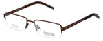 Kenneth Cole Reaction Designer Eyeglasses KC742-048 in Copper :: Rx Single Vision