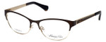 Kenneth Cole Designer Eyeglasses KC0226-047 in Brown-Gold :: Progressive