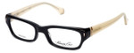 Kenneth Cole Designer Reading Glasses KC0225-001 in Black