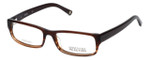 Kenneth Cole Reaction Designer Reading Glasses KC686-048 in Light-Brown