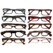 Ladies Designer Reading Glasses Variety Pack :: PLATINUM