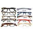 Mens Designer Reading Glasses Variety Pack :: GOLD