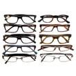 Mens Designer Reading Glasses Variety Pack :: PLATINUM