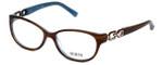 Guess Designer Reading Glasses GU2407-BRNBL in Brown-Blue