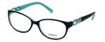 Guess Designer Reading Glasses GU2407-BLGRN in Blue-Green