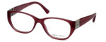 Giorgio Armani Designer Eyeglasses AR7016H-5157 53mm in Cherry Fabric :: Custom Left & Right Lens
