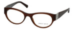 Giorgio Armani Designer Eyeglasses AR7022H-5155 50mm in Gauze Brown :: Custom Left & Right Lens