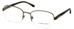 Giorgio Armani Designer Eyeglasses AR5038-3017 55mm in Bronze :: Rx Single Vision