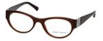 Giorgio Armani Designer Eyeglasses AR7022H-5155 50mm in Gauze Brown :: Progressive