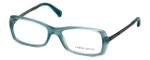 Giorgio Armani Designer Reading Glasses AR7011-5034 51mm in Green Water Opal