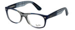 Ray-Ban Designer Reading Glasses RX5184-5516 in Blue-Fade 52mm