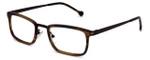 Calabria Elite Designer Eyeglasses CE100 in Brown Tortoise :: Rx Single Vision