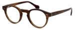 Calabria Elite Designer Eyeglasses CEBH122 in Brown Horn :: Rx Single Vision