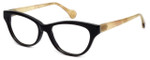 Calabria Elite Designer Eyeglasses CEBH125 in Grey Tan & Horn :: Rx Single Vision