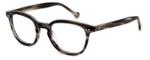 Calabria Elite Designer Eyeglasses CE112 in Grey Stripe :: Progressive
