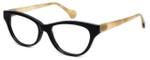 Calabria Elite Designer Eyeglasses CEBH125 in Grey Tan & Horn :: Progressive