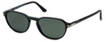 Persol Designer Sunglasses PO3053S-9014/58 in Black & Polarized Grey Lens