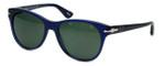 Persol Designer Sunglasses PO3134S-181/31 in Blue & Green  Lens