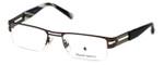 Argyleculture Designer Eyeglasses Reuben in Dark-Gunmetal :: Custom Left & Right Lens