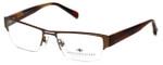 Argyleculture Designer Eyeglasses Rodgers in Brown :: Custom Left & Right Lens