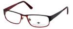 Argyleculture by Russell Simmons Designer Eyeglasses Morton in Black :: Rx Single Vision