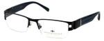 Argyleculture by Russell Simmons Designer Eyeglasses Miller in Black :: Progressive