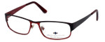 Argyleculture by Russell Simmons Designer Eyeglasses Morton in Black :: Progressive