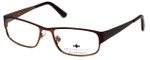 Argyleculture by Russell Simmons Designer Eyeglasses Morton in Dark-Brown :: Rx Bi-Focal