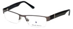 Argyleculture by Russell Simmons Designer Eyeglasses Parker in Charcoal 57mm :: Rx Bi-Focal