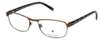 Argyleculture by Russell Simmons Designer Eyeglasses Thelonius in Antique-Brown :: Rx Bi-Focal