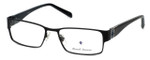 Argyleculture by Russell Simmons Designer Reading Glasses Archie in Black 53mm