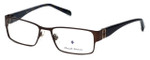 Argyleculture by Russell Simmons Designer Reading Glasses Archie in Brown