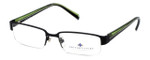 Argyleculture by Russell Simmons Designer Reading Glasses Bowie in Black
