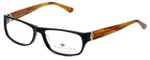 Argyleculture Designer Reading Glasses Chet in Black-Brown 57mm