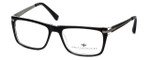 Argyleculture by Russell Simmons Designer Reading Glasses Coltrane in Black