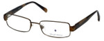 Argyleculture by Russell Simmons Designer Reading Glasses Ellington in Sage-Brown 57mm