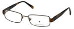 Argyleculture Designer Reading Glasses Ellington in Sage-Brown 57mm