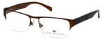 Argyleculture by Russell Simmons Designer Reading Glasses Elton in Brown