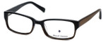 Argyleculture by Russell Simmons Designer Reading Glasses Hendrix in Black-Brown