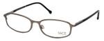 FACE Stockholm Blush 1302-5504 Designer Eyeglasses in Silver :: Custom Left & Right Lens