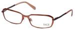 FACE Stockholm Believe 1311-5402 Designer Eyeglasses in Light Copper :: Custom Left & Right Lens
