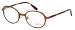 FACE Stockholm Variety 1319-5212 Designer Eyeglasses in Copper Tort :: Rx Single Vision