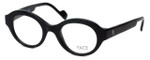 FACE Stockholm Dusk 1347-9501 Designer Eyeglasses in Black :: Rx Single Vision