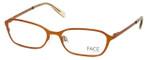 FACE Stockholm Karma 1314-5411 Designer Eyeglasses in Orange :: Progressive