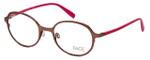 FACE Stockholm Variety 1319-5109 Designer Eyeglasses in Brown Pink :: Progressive